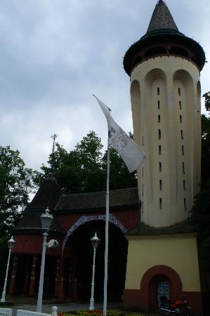 Palic Lake : Water tower