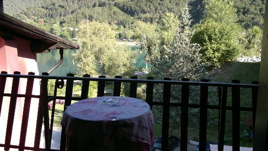 Molina di Ledro, อิตาลี: Veduta dalla camera