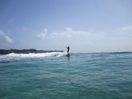 Escuela del Mar Surf School: Surfing fun