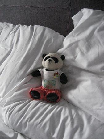 Premier Inn Exeter Central St Davids Hotel: Softer pillows for me!