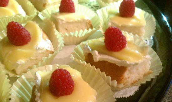 The Local Table: Homemade Lemon Raspberry Cake