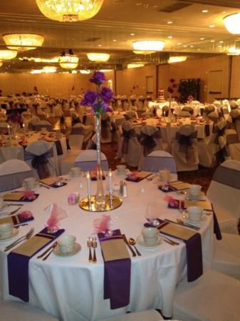 The Marten House Hotel: Wedding reception in Heritage Ballroom