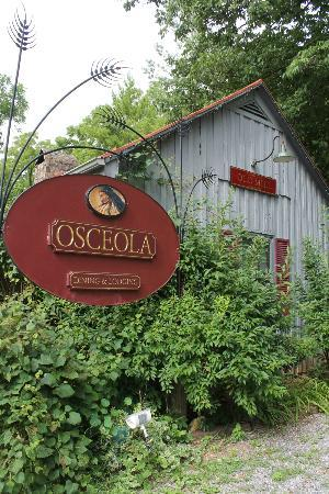 Osceola Mill Restaurant, B&B and Cabins: Le bungalow sur les lieux du B&B