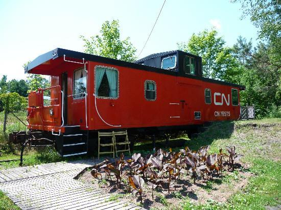 Train Station Inn: Our fave Caboose no. 9