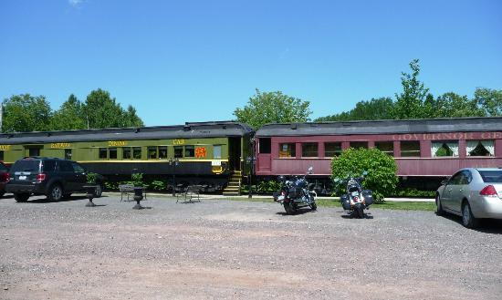Train Station Inn: Unique place to stay and eat