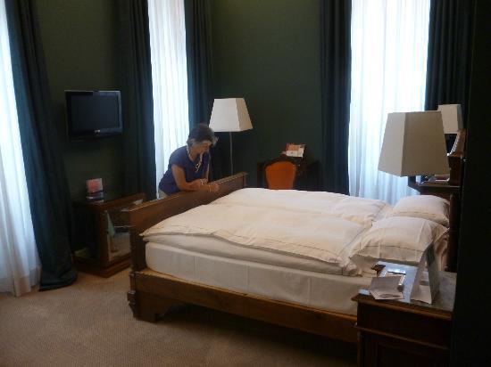 Grand Hotel della Posta: Lo stile dell'arredo