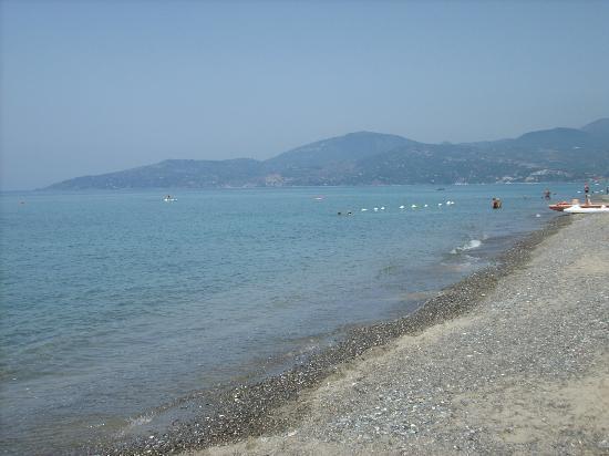 Spiaggia dell'Hotel Bacco - Ascea