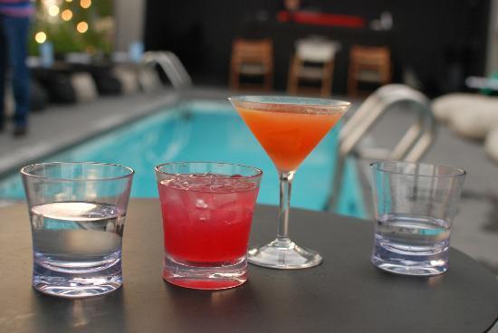 โรงแรมอเมริกาโน: Fab drinks