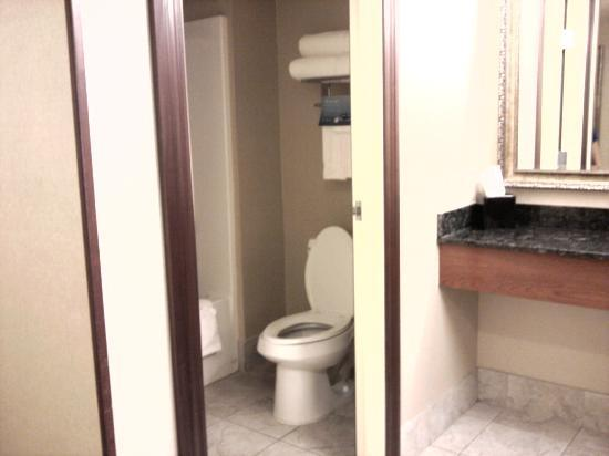 Three Rivers Casino Resort: bathroom