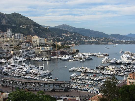 Hotel Ambassador Monaco: Vista do Palácio do Príncipe de Mônaco