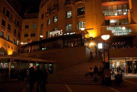 Pappas on the Square: The Square side of Pappas