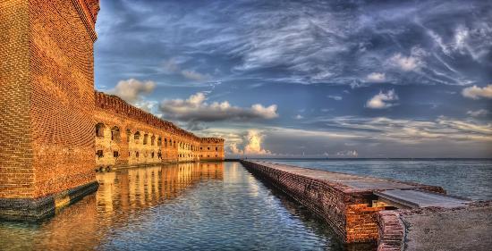 Key West Seaplane Adventures: West moat wall