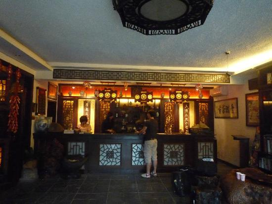 Aroma Tea House: Reception Area