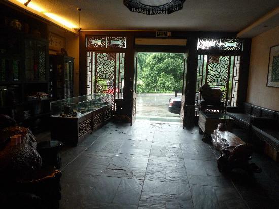 Aroma Tea House: Hotel Lobby