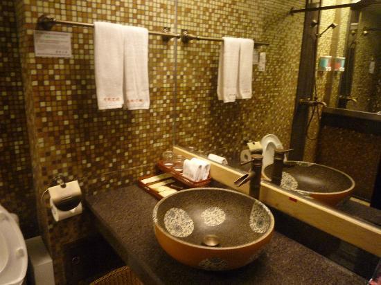 Jing Guan Ming Lou Museum Hotel: Bathroom 2