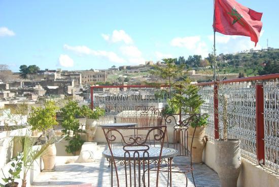 Dar Lalla Kenza: terrace