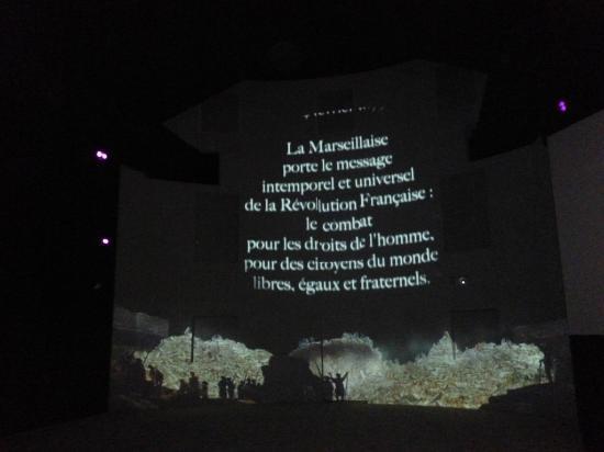 Memorial De La Marseillaise : Salle du Jeu de Paume