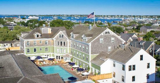 The new, all-season Nantucket Hotel is nestled in the heart of Nantucket. (44908514)