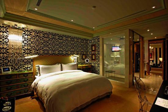 Hotel Eclat Taipei : Éclat Suite - Bedroom