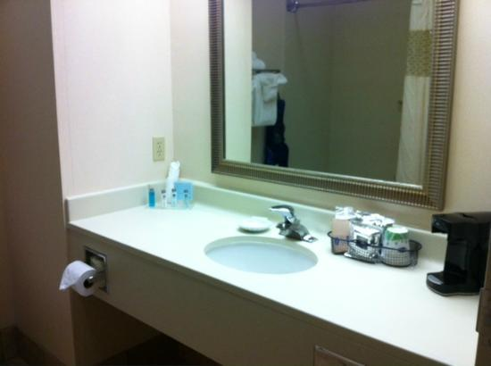 Hampton Inn Youngstown North : very clean bathroom