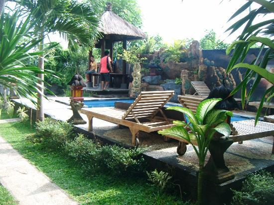 Nana Homestay: Pool area