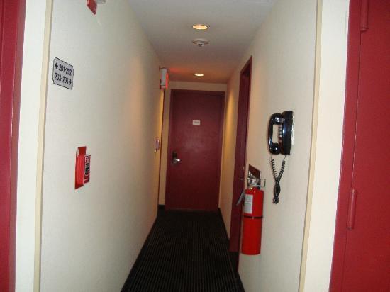 36 Hudson Hotel: corridoio