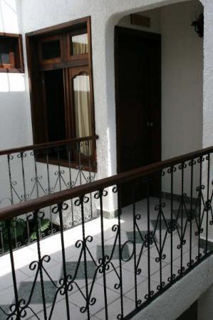 Hotel Antigua: Interior