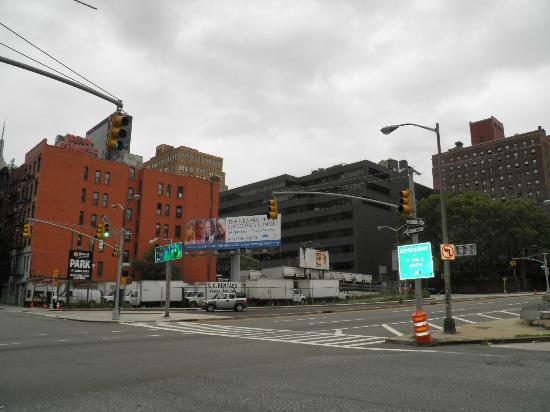 36 Hudson Hotel: la strada dietro