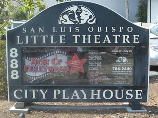 San Luis Obispo Little Theatre: Little Theatre marquee