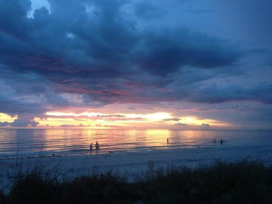 Sunset on Pass-a-Grille Beach