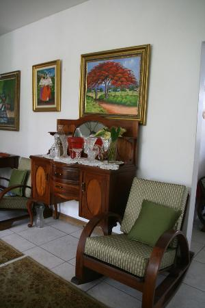 The Allamanda: Common areas...