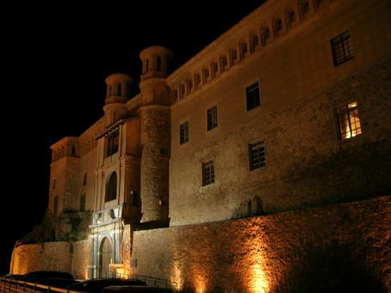 Hospederia Castillo Papa Luna : Hospederia Castillo, fachada principal