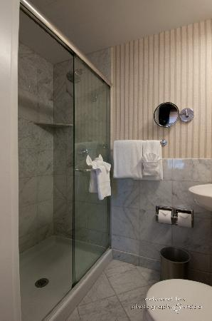 Warwick Allerton-Chicago: Standard Room Stand Up Shower Bathroom