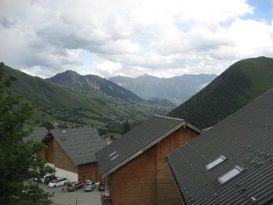 Résidence Odalys Les Chalets de la Porte des Saisons: Udsigt fra balkon