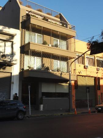 The Glu Hotel: Fachada
