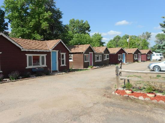 Two Fox Cabins & RVs: View from Oak St