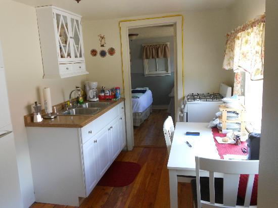 Two Fox Cabins & RVs : Kitchenette Cabin 8