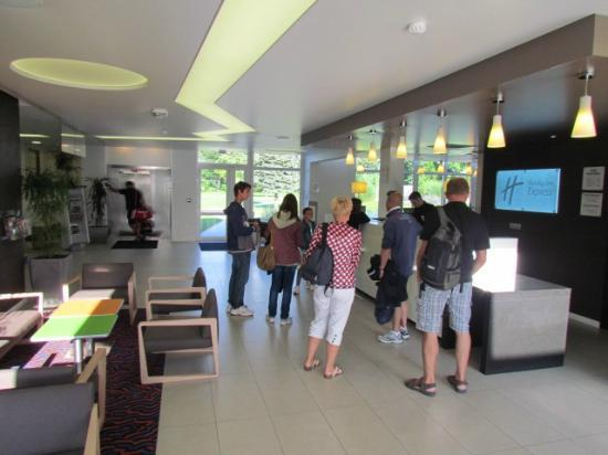 Holiday Inn Express Strasbourg - Sud : Reception