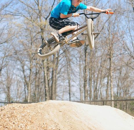 Normandy Farms Family Camping Resort: Bike Park