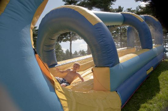 Normandy Farms Family Camping Resort: Slip & Slide