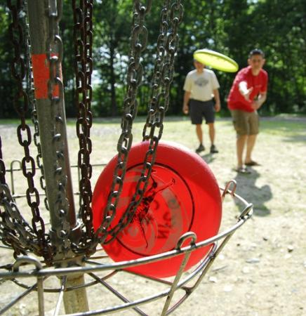 Normandy Farms Family Camping Resort: Disc Golf Course
