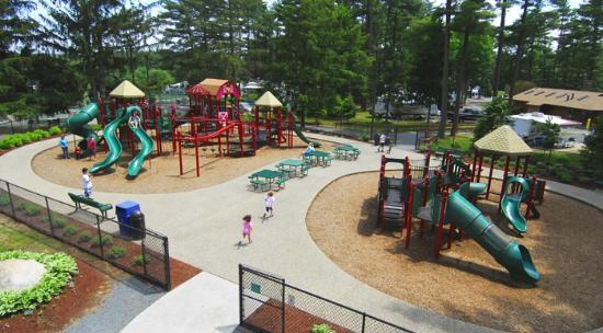 Normandy Farms Family Camping Resort: Playground #1