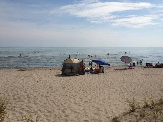 Long Point Provincial Campground : Long Point Provincial Park Beach