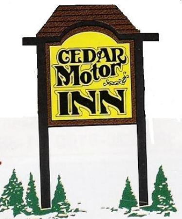 Cedar sign picture of cedar motor inn marquette for Cedar motor lodge marquette mi