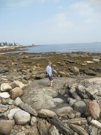 Ocean Point Inn and Resort: Across from the Inn
