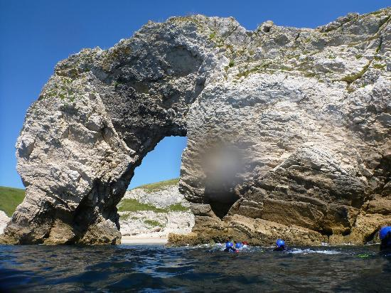 Cumulus Outdoors: Swimming through Durdle Door