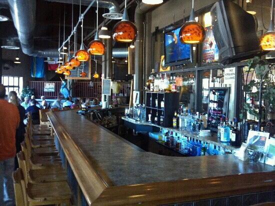 Blue Heron BrewPub: Inside the Blue Heron Brew Pub.