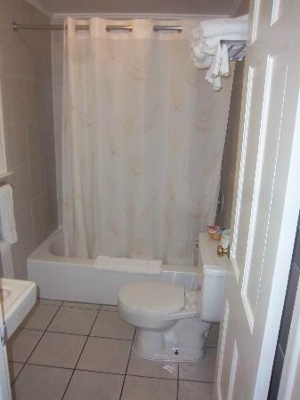 Americas Best Value Inn Jamestown: Bathroom
