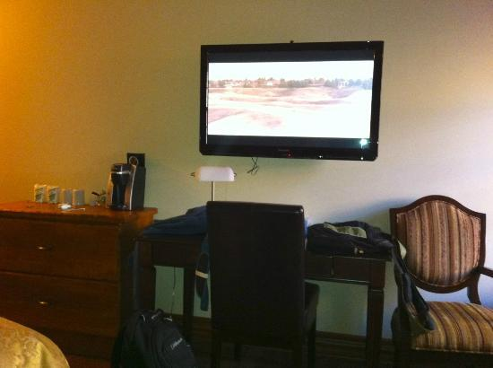 Le Grand Hotel : Téléviseur écran plan