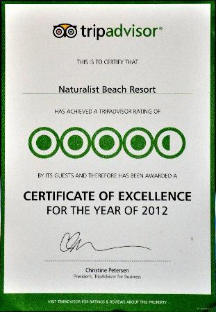 Naturalist Beach Resort: To our many guests